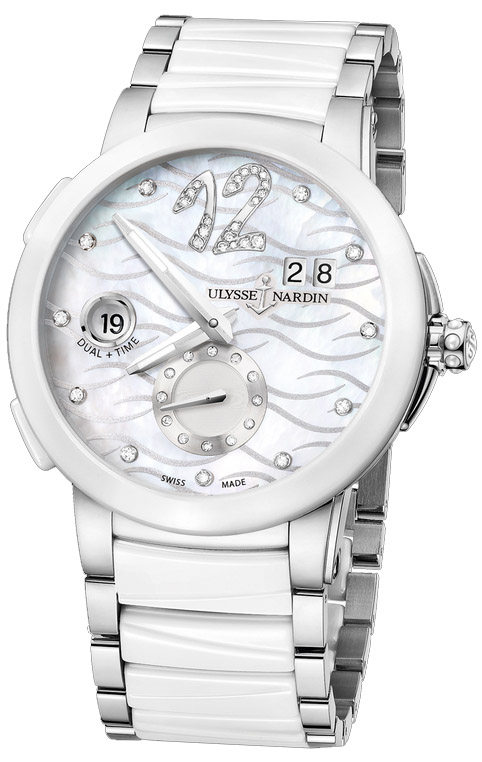Часы Ulysse Nardin Executive Dual Time Lady 243-10