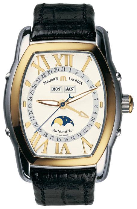 Часы Maurice Lacroix Masterpiece Phases de Lune Tonneau MP6439-YS101-11E