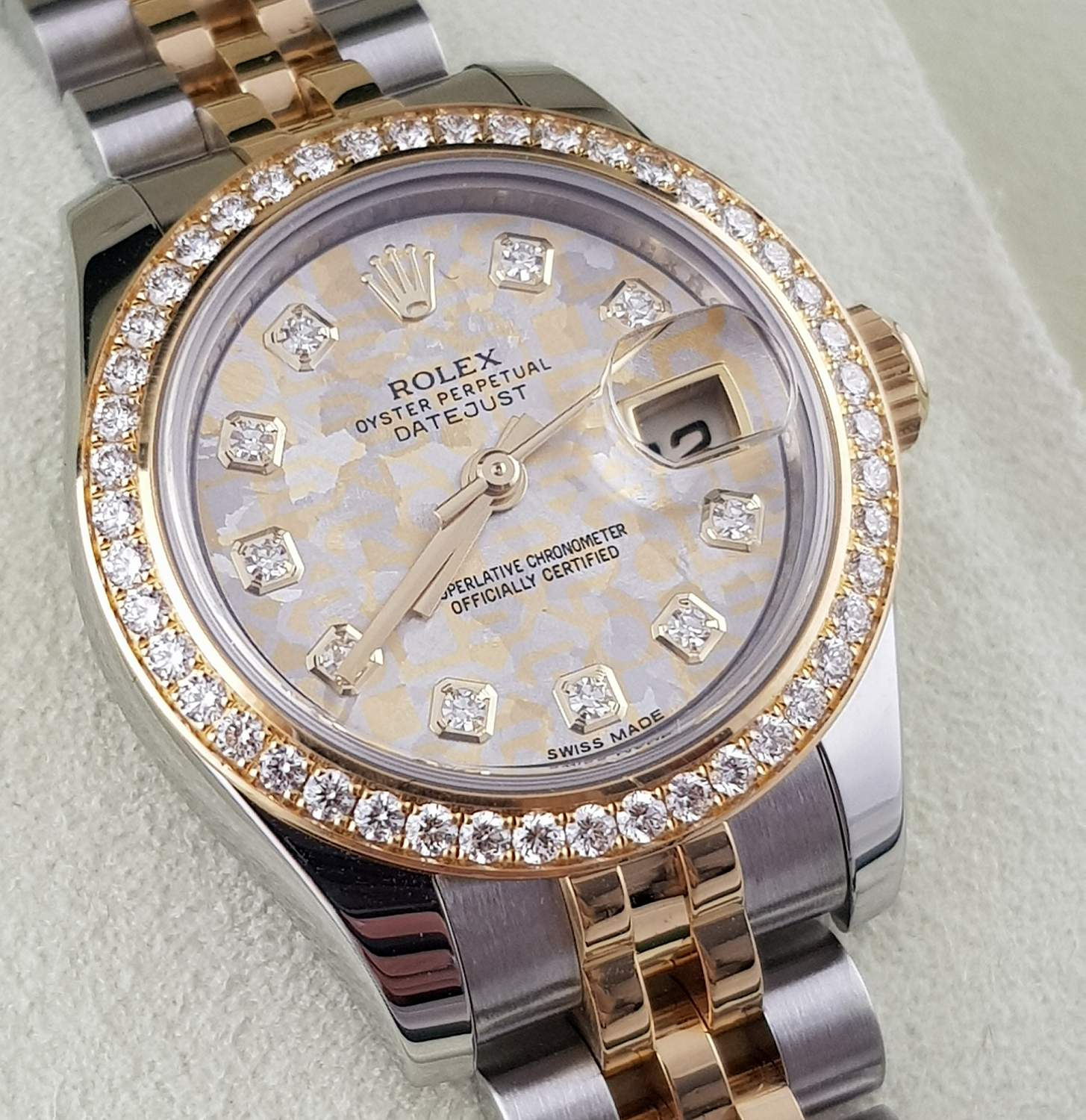 Часы Rolex Datejust Lady 26mm Steel And Yellow Gold 179383