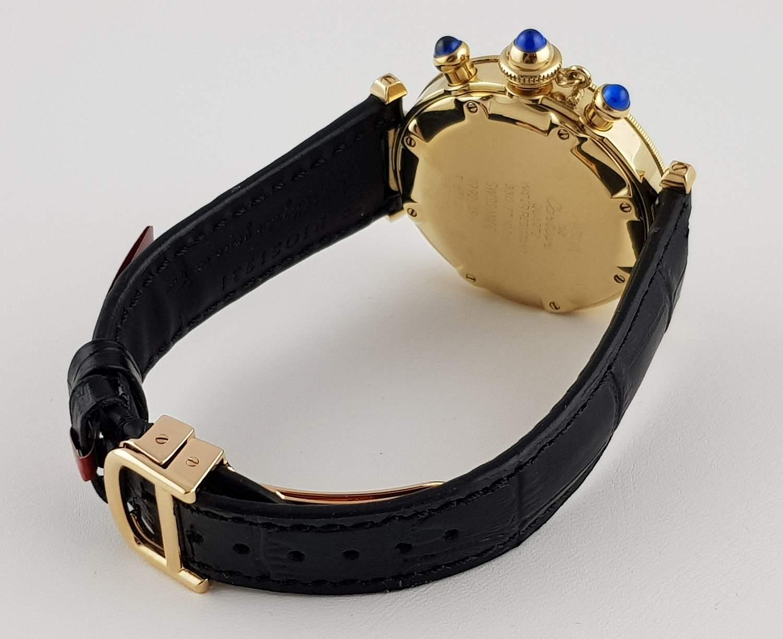Часы Cartier  Pasha Chronograph 38mm Pasha