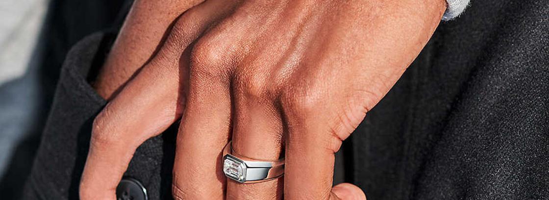 Мужские помолвочные кольца впервые в истории брэнда Tiffany&Co