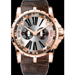 Часы Roger Dubuis Excalibur Triple Time Zone EX45-1448-50-00/0RR00/B