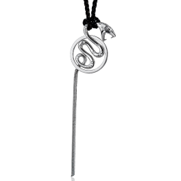 Колье Boucheron 18 Karat Diamond Snake Pendant White Gold