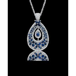 Колье RalfDiamonds Blue Sapphire Butterfly Necklace