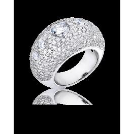 Кольцо с бриллиантом RalfDiamonds  бриллиантом 1,00ct J/SI2