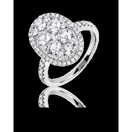 Кольцо с бриллиантом RalfDiamonds  с бриллиантами 1,97ct