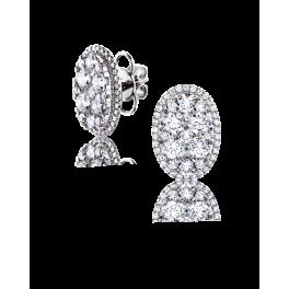 Серьги RalfDiamonds  с бриллиантами 3,73ct