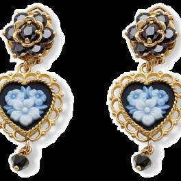 Серьги Dolce & Gabbana Love Earrings WEEB2G WSLE5 Z0000