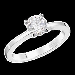 Кольцо с бриллиантом Chopard  0,5ct F/VS1
