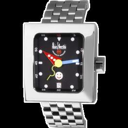 Часы Alain Silberstein Silberstein Pave Smileday Automatik Datum Edelstahl Herrenuhr Limitiert