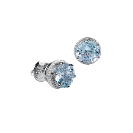 Серьги Damiani Minou Earrings, Aquamarine, Diamonds 20072793