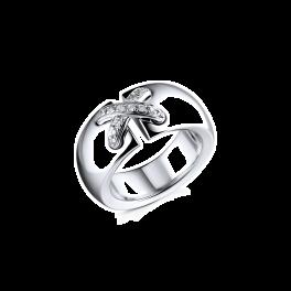 Кольцо с бриллиантом CHAUMET Liens White Gold Ring