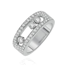 Кольцо с бриллиантом MESSIKA Move Joaillerie Ring