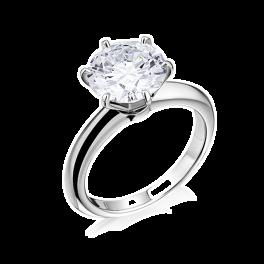 Кольцо с бриллиантом No name  1,70ct G/VS1