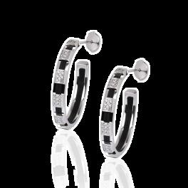 Серьги CHAUMET  с бриллиантами