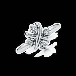 Кольцо с бриллиантом Tiffany & Co Lynn Ring