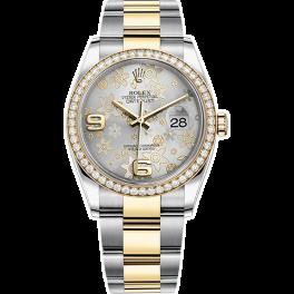 Часы Rolex Datejust 36mm Steel and Yellow Gold 116243