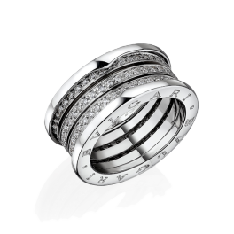 Кольцо с бриллиантом No name  в стиле Bvlgari