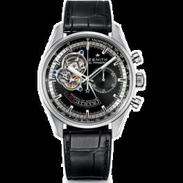 Часы Zenith El Primero Chronomaster Black Dial 03.2080.4021