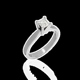 Кольцо с бриллиантом No name  0,50ct G/VS2