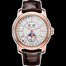 Часы Blancpain Le Brassus Complete Calendar Moon Phase GMT 4276-3642-55B