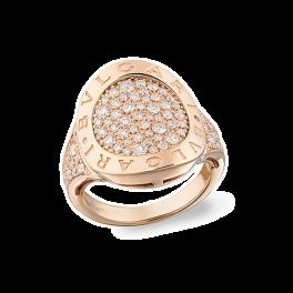 Кольцо с бриллиантом Bvlgari  ring AN854863