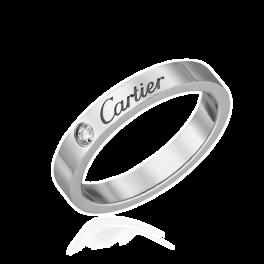 Кольцо с бриллиантом Cartier Love 1 Diamond B4051300