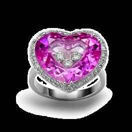 Кольцо с бриллиантом Chopard So Happy Ring 826121-1003