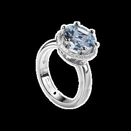 Кольцо с бриллиантом Damiani Minou Ring, Aquamarine, Diamonds 20072794