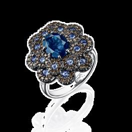 Кольцо с бриллиантом Damiani Renaissance Ring