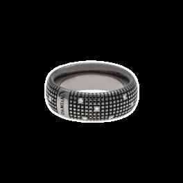 Кольцо с бриллиантом Damiani Metropolitan Black gold and diamonds ring 20048418