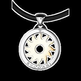 Подвеска Bvlgari Tondo Steel Yellow Gold Sun Pendant