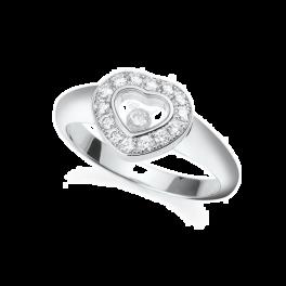Кольцо с бриллиантом Chopard Happy Heart 82/1084