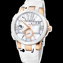 Часы Ulysse Nardin Dual Time Executive Lady 246-10-3/391