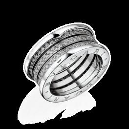 Кольцо с бриллиантом Bvlgari B.Zero1 AN850556