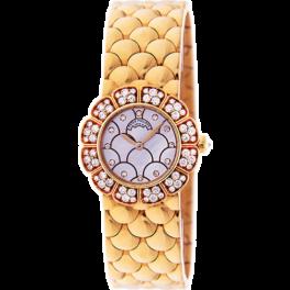 Часы Patek Philippe Yellow Gold Ladies Watch With Diamonds 4872