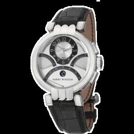Часы Harry Winston Premier Excenter Biretrograde 200-MCRA39W