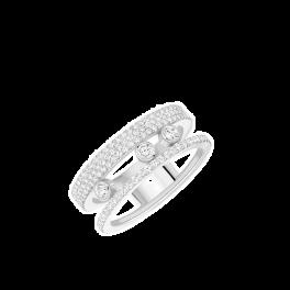 Кольцо с бриллиантом MESSIKA  Move Romane 07128-WG