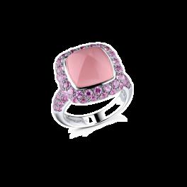 Кольцо RalfDiamonds  с розовым кварцем