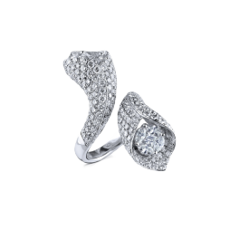 Кольцо с бриллиантом RalfDiamonds