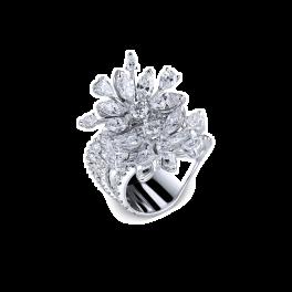 Кольцо с бриллиантом RalfDiamonds  c бриллиантами 4,15сt