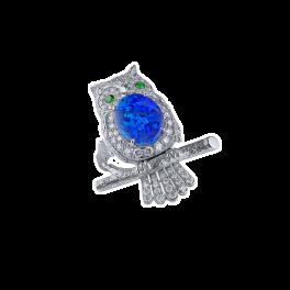 Кольцо с бриллиантом RalfDiamonds /брошь