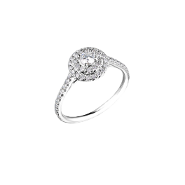 Кольцо с бриллиантом Tiffany & Co  Soleste