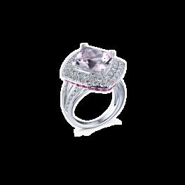 Кольцо с бриллиантом Mauboussin