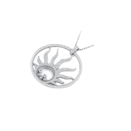 Колье Chopard подвеска Happy Diamonds Sun Pendant