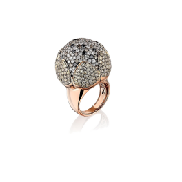 Кольцо с бриллиантом Jacob & Co  Flower 121410