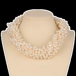 Колье Tiffany & Co  Olive Leaf Torsade Pearl. Paloma Picasso