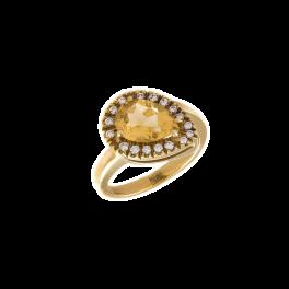 Кольцо Giorgio Visconti  с цитрином 2,50ct