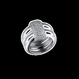 Кольцо с бриллиантом CHAUMET  Duo Collection 382152