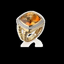 Кольцо с бриллиантом David Yurman  Albion